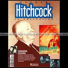 ALFRED HITCHCOCK 8.a FILM LA CINQUIEME COLONNE  ROBERT CUMMUNGS PRISCILLA LANE