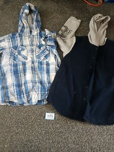 Boys Age 9-10 Years Button Up Shirts (B175)