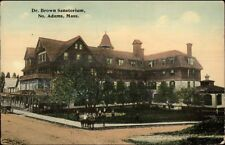 North Adams MA Dr. Brown Sanatorium c1910 Postcard