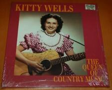 Kitty Wells - The Queen Of Country Music - Sealed 1993 Bear Family 4 CD Box Set