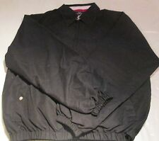 Jacket Black XL Lightweight with Lining Full zipper 2 Pockets Fall Spring Jacket