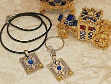 Eagle Egg Faberge Russian Ornament GrandFather Grandpa Men Gift Him 24kGold 10ct