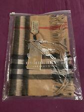burberry Schal Tuch 100% Kaschmir camel