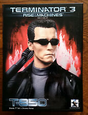 "RARE Gentle Giant Terminator 3 Rise of the Machines T-850 7"" Mini-Bust Ltd Edn"