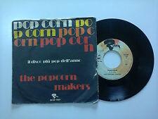 """The Popcorn Makers / Popcorn -Disco Vinile 45 Giri 7"""" Stampa Italia1972"""
