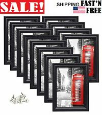 12 Pack 5x7 Picture Frames Black Photo Frame Set, Wall Hanging and Tabletop