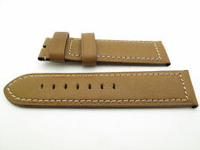 Panerai Camel Gold Calfskin Leather 26mm Nubuck Strap Regular 125mm/95mm PAM127