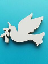 Flying Dove with Olive Branch Die Cut Outs ( Scrap Booking, Embellishment, Decou