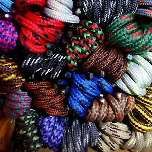 Strong Hiking Boot Laces - Length 90 cm - Huge range of 50+ patterned shoe laces