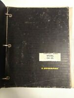 Dynapac Operators / Repair Manual Model CA-25 Original OEM 1979