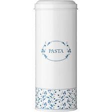 NUOVO Blu Alto ROSE PASTA Contenitore Cucina Spaghetti barattoli di Storage container in stagno