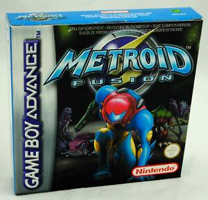 METROID 4 FUSION sur Nintendo Game Boy Advance GBA NEUF jamais ouvert VGA ready