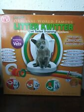 LITTER KWITTER Cat Toilet Training System LK-1 Pre owned