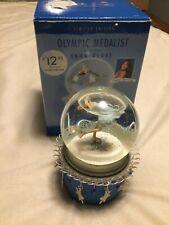 New listing Peggy Fleming Hallmark Olympic Medalist Musical Snow Globe Pachelbel's canon D