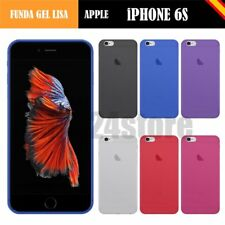 Funda gel lisa Apple IPHONE 6S 4.7""