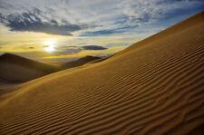 LIMITED EDITION PETER LIK STYLE FINE ART PRINT SAND DUNES SOCAL DESERT SUNSET