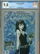 New Listing2010 Dc Action Comics #894 David Finch Death Appearance Cgc 9.8 White Box3