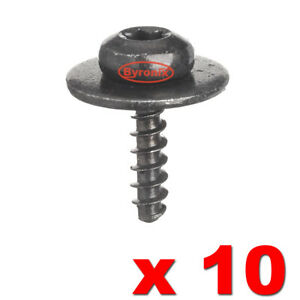 Engine Under Tray Metal Mounting Screws Nut Bolt Torx For Ford Focus Fiesta x 10