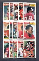 1987 Topps San Francisco 49ers TEAM SET - Joe Montana