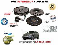 FOR HYUNDAI SANTA FE 2.4 + 4WD 2010-2015 NEW DUAL MASS DMF FLYWHEEL + CLUTCH KIT