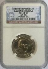 NGC MS68 2014-P Calvin Coolidge Presidential Dollar Gem Uncirculated Registry $1