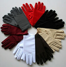 Autumn winter woman high elastic jewelry dancing spandex cycling warm gloves