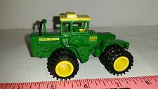 1/64 ERTL custom John deere 8020 4wd tractor w/ Duals and cab farm toy nice!