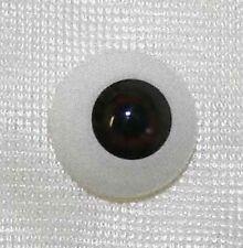 Reborn doll eyes 18mm Half Round  Oriental brown