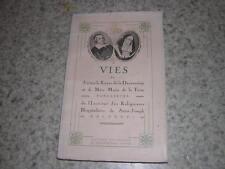 1936.Jérome le Royer Dauversière & Marie de la Ferre.hospitalières saint-Joseph