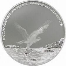 Mongolia 2004 Sea Eagle 500 Tugrik Silver Coin,Proof