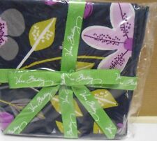 Vera Bradley  floral nightingale  Cocktail  Napkins - set of 4 new mint  cloth