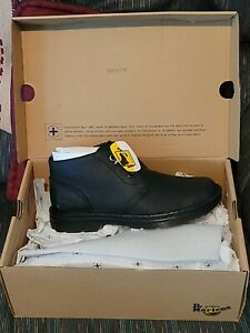 NEW Dr. Martens AIR WAIR SIZE 8 Sussex Black BEAR TRACK Leather Boots 13795001