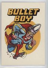 1983 General Mills Zero Heroes #52 Bullet Boy Non-Sports Card 0a3