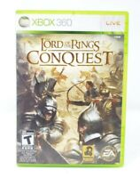 Lord of the Rings Conquest Microsoft Xbox 360 X360 Game