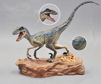Jurassic World 2 Fallen Kingdom Figure Blue Velociraptor Dinosaur Statue Toys