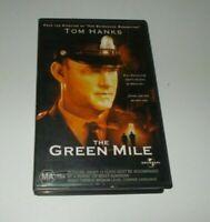 The Green Mile VHS PAL Video Big Box Ex Rental Tom Hanks Stephen King