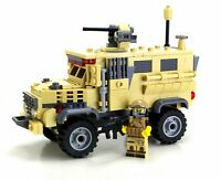 MRAP Custom Military APC set made with real LEGO® bricks
