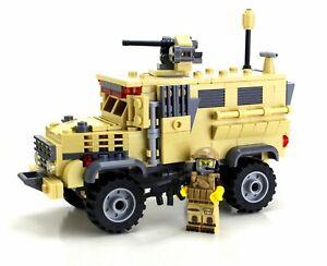 MRAP Custom Military APC set made with real LEGO® bricks