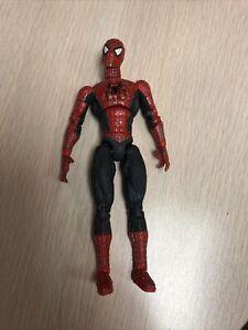 """Marvel Legends Toybiz Spider-man Movie Tobey Maguire 6"""" Inch Action Figure RARE"""