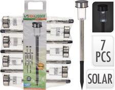 LED Solarlampe 7er-Set  Balkon Solarleuchte Solarlampe Solar Gartenleuchte