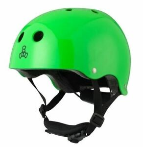 Triple Eight - Lil 8 Dual Certified Helmet with EPS Liner - Green