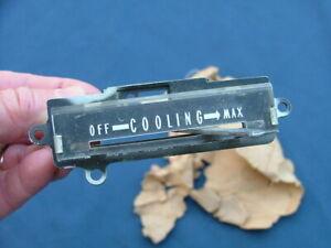 1957 Mercury dash AC control assembly, NOS! FEK-19161-B A/C