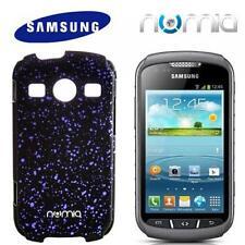 numia 3D Handy Cover Case Samsung S7710 Galaxy Xcover 2 Schwarz-Blau Schutzhülle