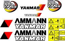 Yanmar Vio 55 bagger-aufkleber-satz