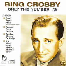 BING CROSBY - Only The Number 1's (UK 18 Trk CD Album)