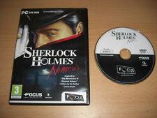 Sherlock Holmes - NEMESIS Pc DVD Rom FO - Fast Post