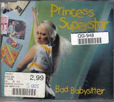Princess Superstar-Bad Babysitter cd maxi single