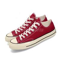 Converse First String Chuck Taylor 70 OX Red Ivory Men Women Unisex Shoe 164949C