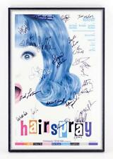 BROADWAY HAIRSPRAY POSTER AUTOGRAPHED BY ORIGINAL CAST