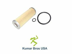 New Kubota Fuel Filter with O-Rings 15231-43560, 1T021-43560, 15231-43562